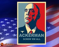 Ackerman's Presidential campaign