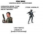 Star Wars Deadliest Warrior: Viszla vs SPAR