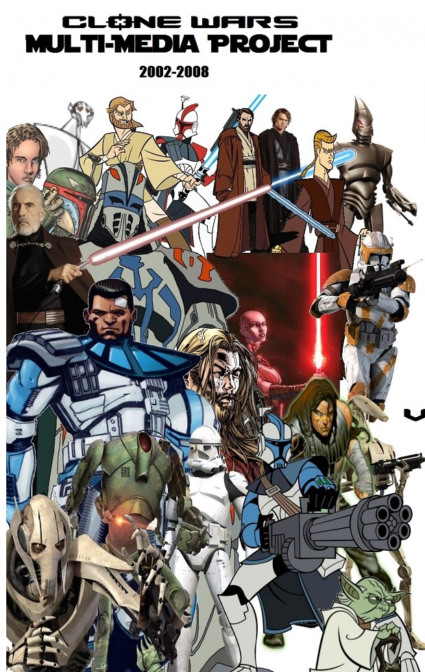 Join the Clone Wars Multi Media Project Fans!