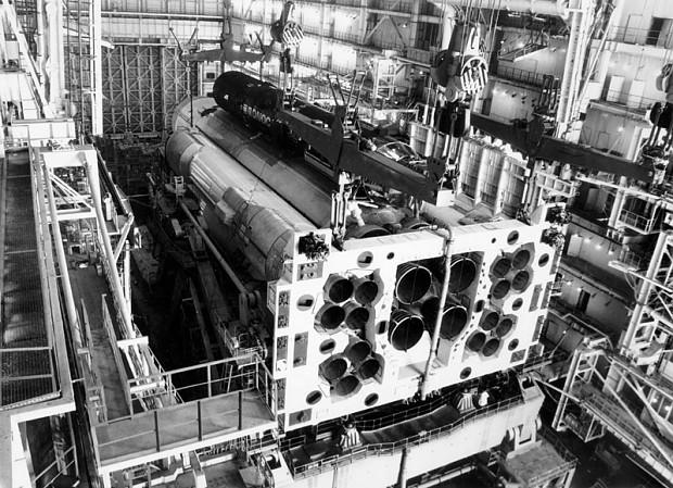 Soviet space laser cannon.