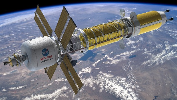 Copernicus - Nuclear-Thermal Rocket ship to Mars
