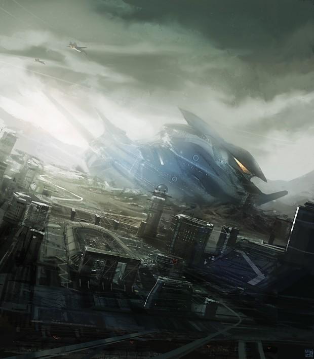 space ship crash - photo #14