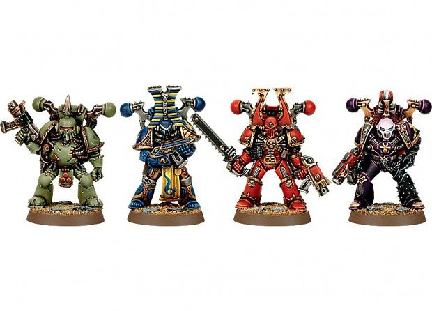 chaos armour types