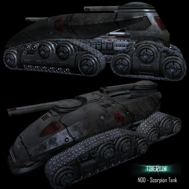 Tiberium's Scorpion Tank