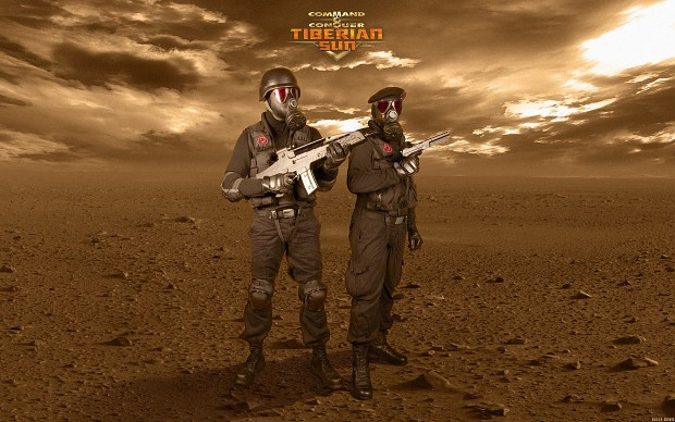 Tiberian Sun Nod Soldiers posing