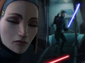 Escape of Obiwan thanks to Bo-Katan