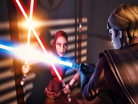 Skywalker vs Barriss