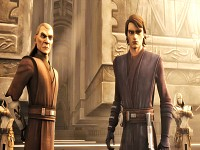 Cin Drallig & Anakin Skywalker - friends
