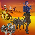 Clones & Death Watch - TCW