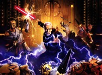 Night-brothers vs Count Dooku