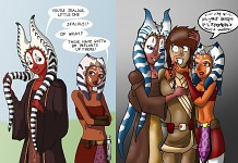 Shaak Ti & Ahsoka Tano - competition
