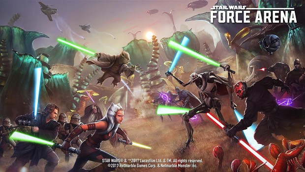 Star Wars - Force Arena