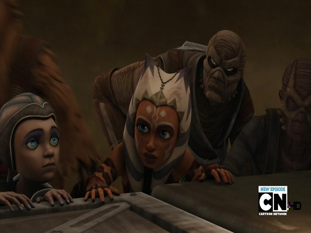 Look Ozzy, it's Ahsoka!!! :)