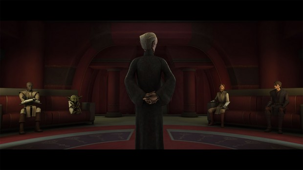 Let him play... Palpatine's office 501