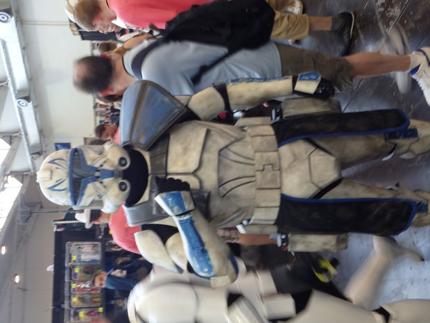 Captain Rex cosplay at CE2