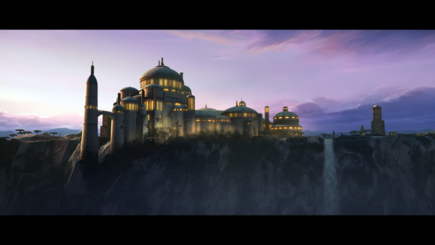 The Theed Royal Palace - TCW