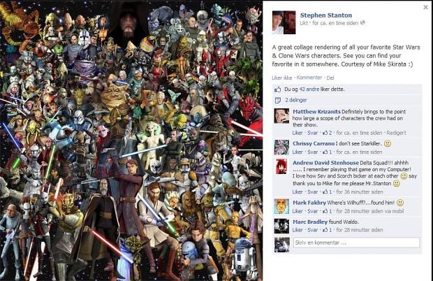 Where's Waldo? Clone Wars edition