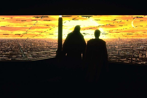 Coruscant Sunset