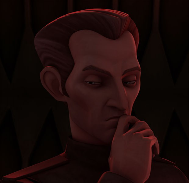 Captain Tarkin (Grand Moff in episode 4)