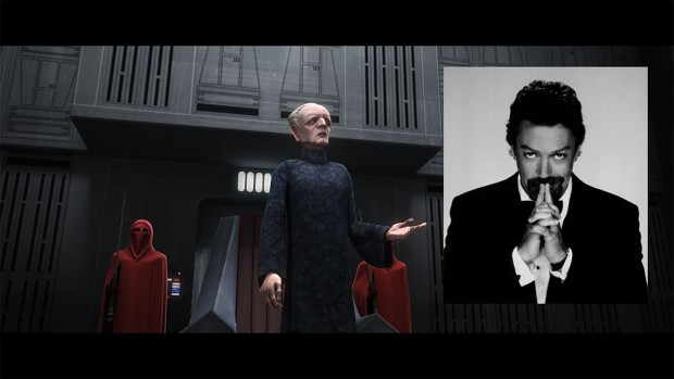 Tim Curry - The New Voice of Palpatine