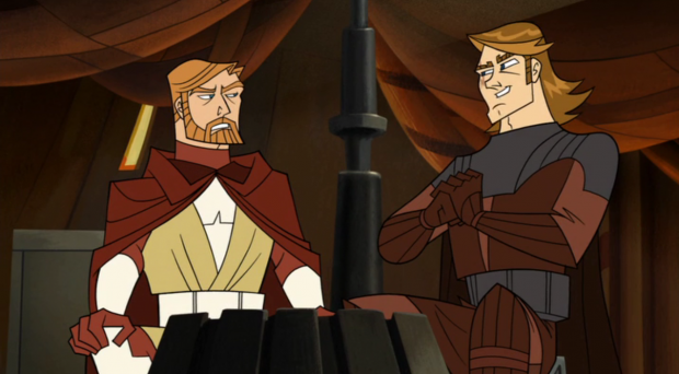 Kenobi & Skywalker (Genndy)