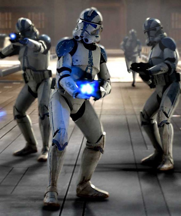 501st clone troopers image - the galactic republic