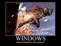 windows,because mandalorians don't use doors.