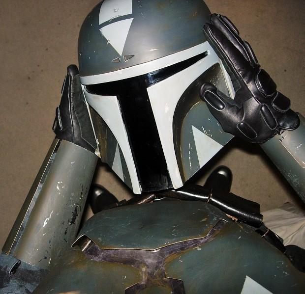 A Mando's Helmet