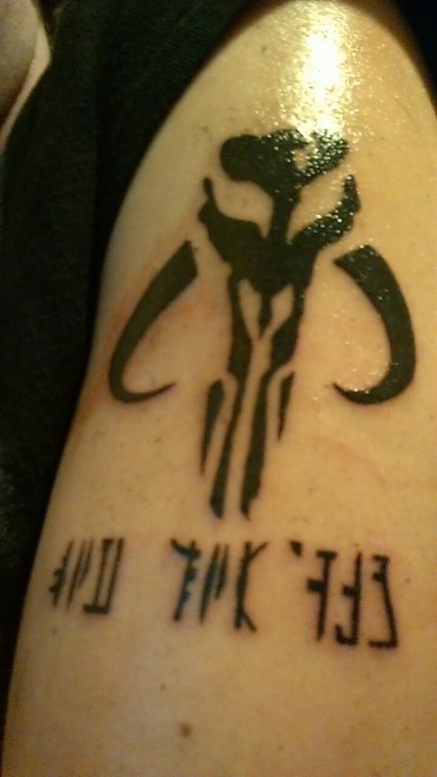 Delta's tattoo