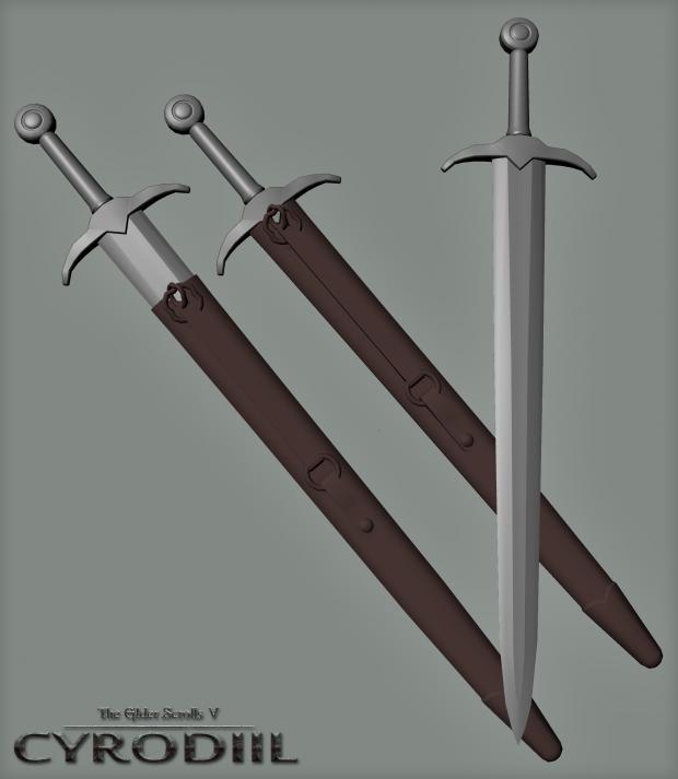 Cyrodillic Sword WIP