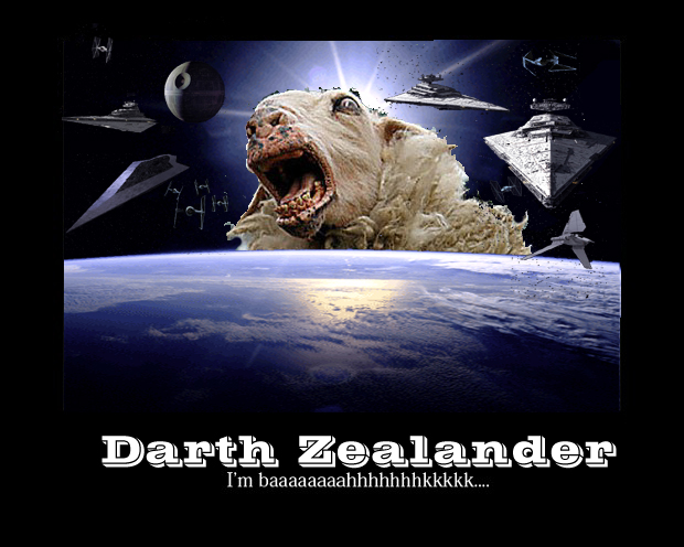 Darth Zealand strikes Baaaaaaack