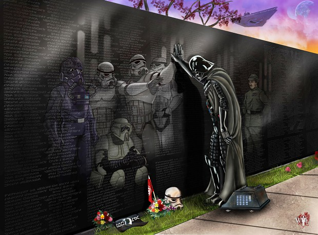 Stormtrooper memorial
