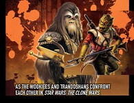 Wookiees vs Trandoshans