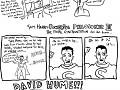 Sam Harris meme ft zombie Christopher Hitchens