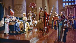 Moses addresses Pharaoh.
