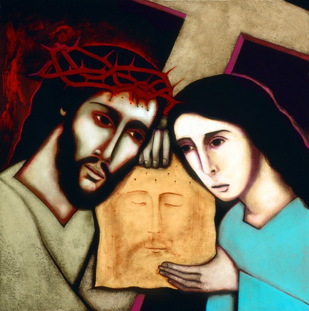 Jesus & Veronica - artwork