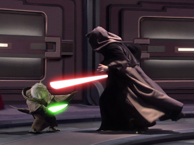 master yoda vs darth - photo #9