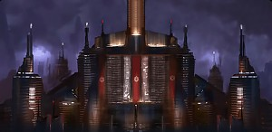 The Sith Temple on Coruscant