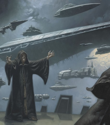 Darth Sidious' fleet including the Eclipse