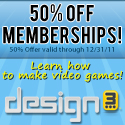 50% Off design3 Memberships
