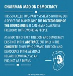 Mao about democracy