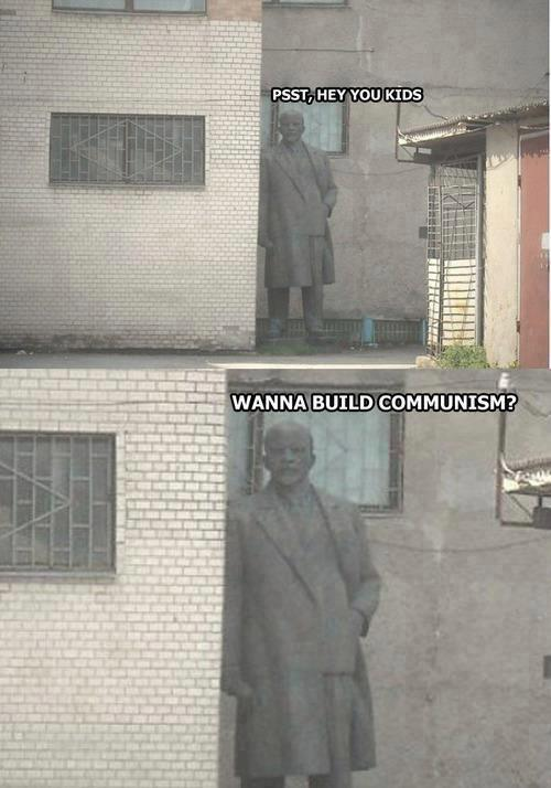 Lenin strikes back