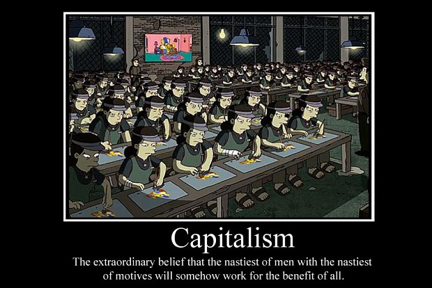 Capitalism Demotivator Image The Communist Party Mod Db