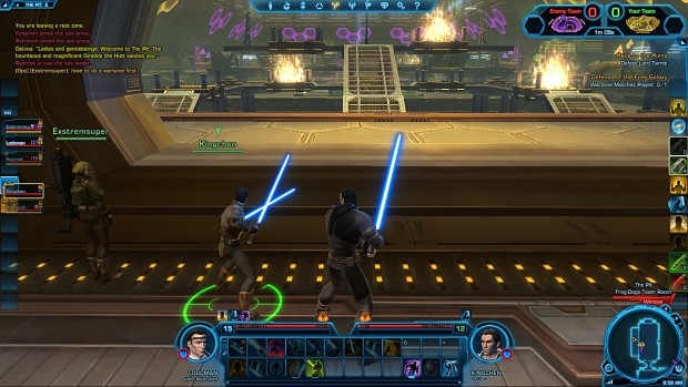 First Day in Star Wars The old Republic.......