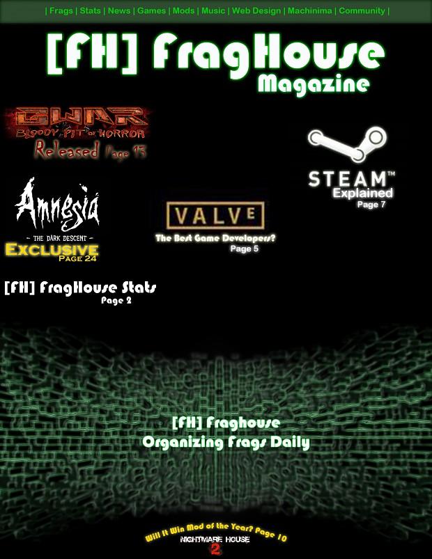 [FH] FragHouse Magazine