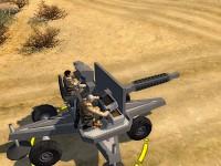 The movable M1A1 railgun