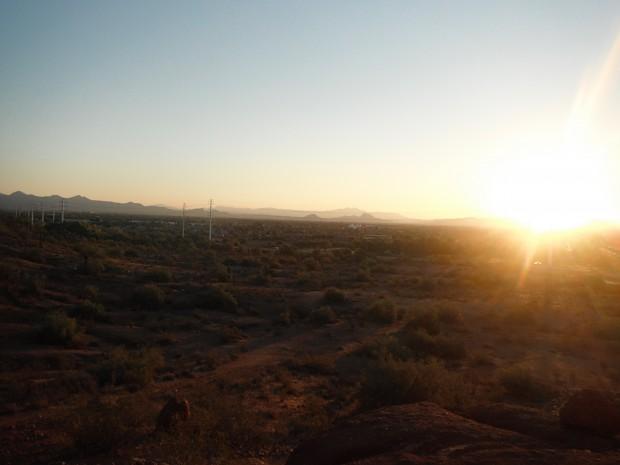Desert At Daybreak