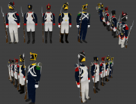 Moji radovi - Napoleonic era unifroms