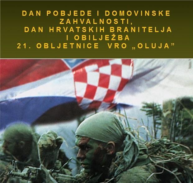Sretan vam Dan pobjede i domovinske zahvalnosti, Dan hrvatskih branitelja