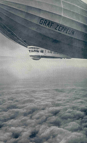 Graf Zeppelin Above the Clouds